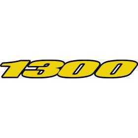 Autocollant / Sticker suzuki 1300